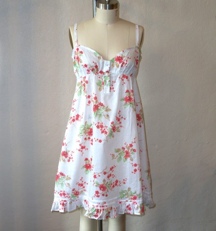 Print Nightgown