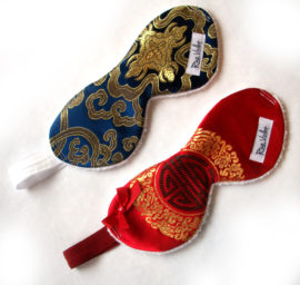 Chinese Brocade Sleep Masks