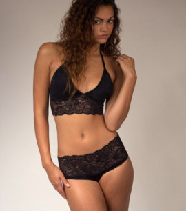 Black Lace Set