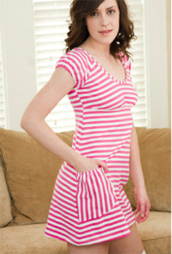 Candy Striped Nightie